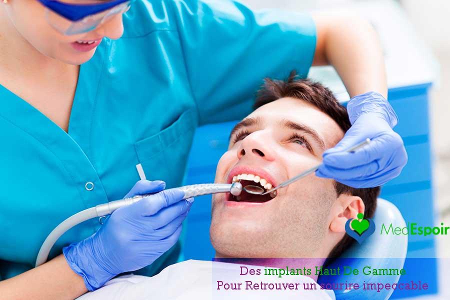 Prix implant dentaire pas cher