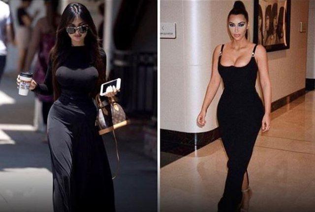 Jennifer Pamplona et Kim Kardashian