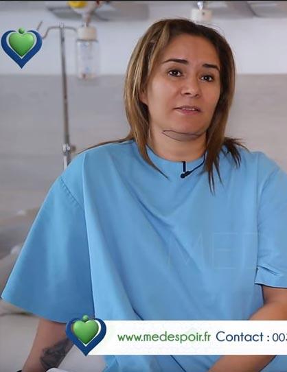 Rachida parle de sa chirurgie esthétique